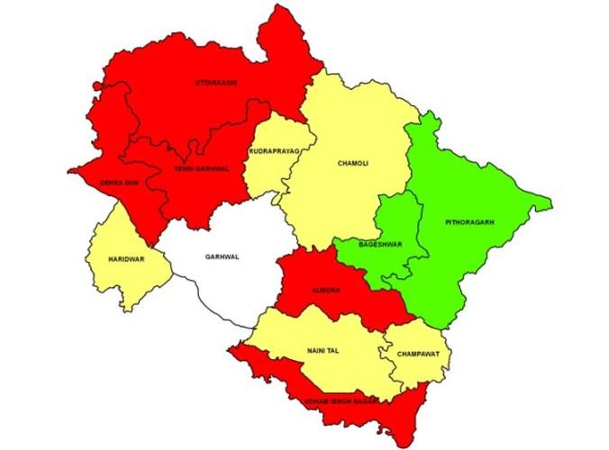 uttrakhand map
